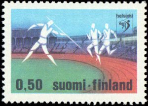 1971 Finland #507-508, Complete Set(2), Never Hinged
