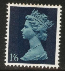 Great Britain Scott MH16 MNH** 1967 Machin indigo