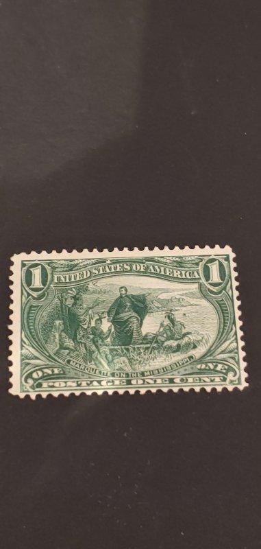 US #285 MNH