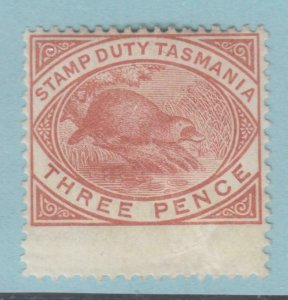 TASMANIA AR25  MINT HINGED OG * NO FAULTS VERY FINE!