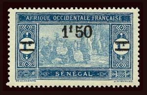 SENEGAL Scott #134 1927 preparing food unused HR