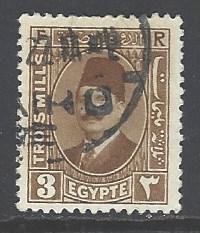 Egypt 130 used wm 195 (DT)