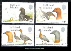 Falkland Islands Scott 477-480 Mint never hinged.