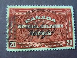 CANADA # E5-USED------SPECIAL DELIVERY------1932