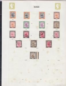south egypt stamps page ref 16903