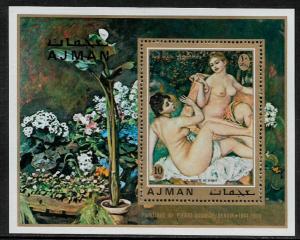 Ajman Michel #Block278A MNH S/Sheet - Renoir Painting