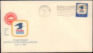 United States, South Carolina, First Day Cover