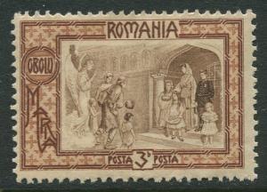 Romania -Scott B17- Semi Postal - 1907 - MLH - Single 3b + 7b Stamp