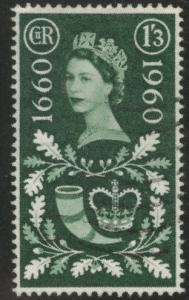 Great Britain Scott 376 used 1960 stamp