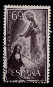SPAIN Scott 864 Used 1957 stamp