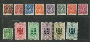 St. Lucia Sc#135-148 M/NH/VF, Cv. $44.90