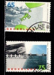 Netherlands - #708 - 709 Delta Project set/2 - Used