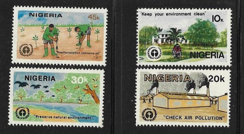 Nigeria 1982 10th anniv of UN Conference on Human Environment MNH