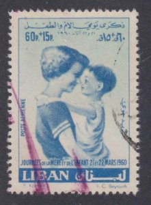 Lebanon # CB11 , Mother and Child , VF used - I Combine S/H