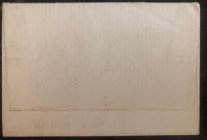 1913 Penang Straits Settlements Late Fee Paid cover To Sherborne England