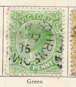 Victoria 1885 Early Issue Fine Used 1d. NW-11570