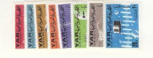 Yemen (YAR), MI:451-58, Space Singles, MNH