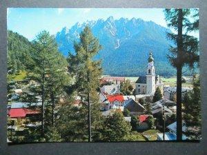 5172 Cartolina Postcard Dolomiti Dobbiaco usata
