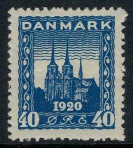 Denmark #160*  CV $57.50