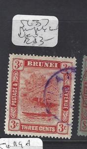 BRUNEI  (P2608B)  RIVER 3 C  KUALA BELAIT    SG  37   VFU
