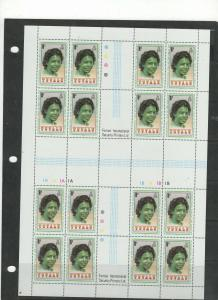 Tuvalu Mint sheets