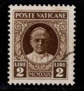 VATICAN Scott 10 Used 1929 stamp