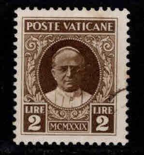 VATICAN Scott 10 Used 1929 stamp