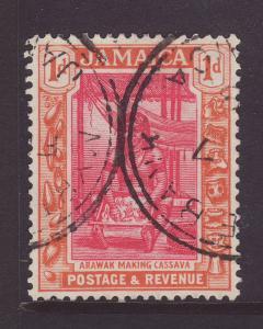 1922 Jamaica 1d Part Myrtle Bank CDS