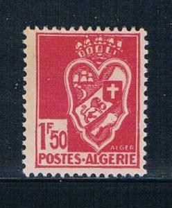 Algeria 154 MNH Arms of Algiers 1942 (A0317)+
