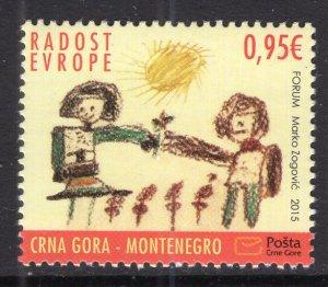 Montenegro 386 MNH VF