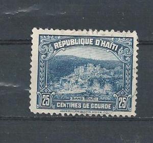 HAITI STAMP,VFU REPUBLIQUE D' HAITI SANS SOUCI.#AA22