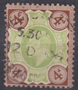 Great Britain #133 VF Used CV $35.00 (B2584)