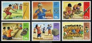 Tokelau Scott 97-102 Mint never hinged.