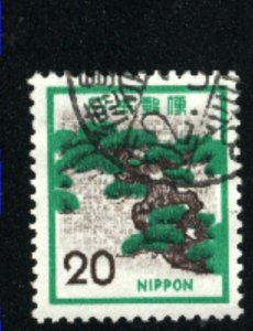 Japan 1071   -4  used VF 1971-75 PD