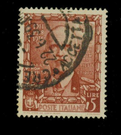 Italy #409 Used VF Cat$52.50