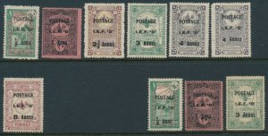 Iraq, British Occupied, League of Nations Mandate. Mosul Includes listed variety