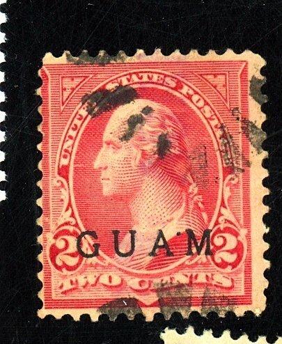 Guam #2 used av-fine cat $25