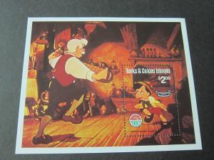 Turks & Caicos Island Disney 1980 Sc 451 MNH