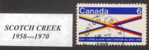 CANADA  BRITISH COLUMBIA CANCEL    SCOTCH CREEK