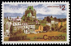 CANADA STAMP 1972 City Pictures $2  MNH/OG OPEN CREASE ERROR