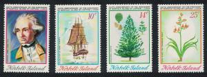 Norfolk Captain Cook Bicentenary Discovery of Norfolk Is 4v SG#152-155