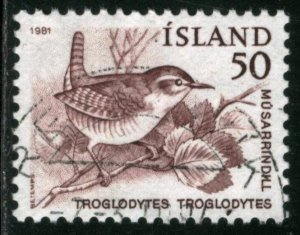 ICELAND #543, USED - 1981 - ICE591AFF6
