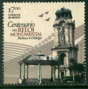 MEXICO 2719, CENTENARY OF THE MONUMENTAL CLOCK OF PACHUCA. MINT, NH. F-VF.