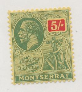 Montserrat Stamp Scott #74, Mint, Small Hinge Remnant - Free U.S. Shipping, F...