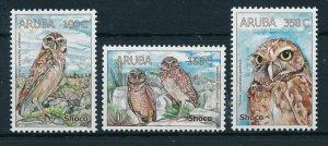[AR400] Aruba 2008 Birds owls  MNH