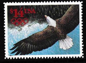 United States 1991 Scott 2542 $14. Face Eagle International Express Mail VF/NH