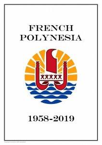 French Polynesia 1958 - 2019 PDF (DIGITAL) STAMP ALBUM PAGES