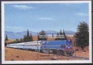 1998 Guinea 2191/B566 Locomotives 8,00 €