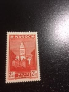 French Morocco sc 170a MH