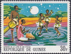 Guinea # 506 mnh ~ 30fr The Legend of Moons and the Stars